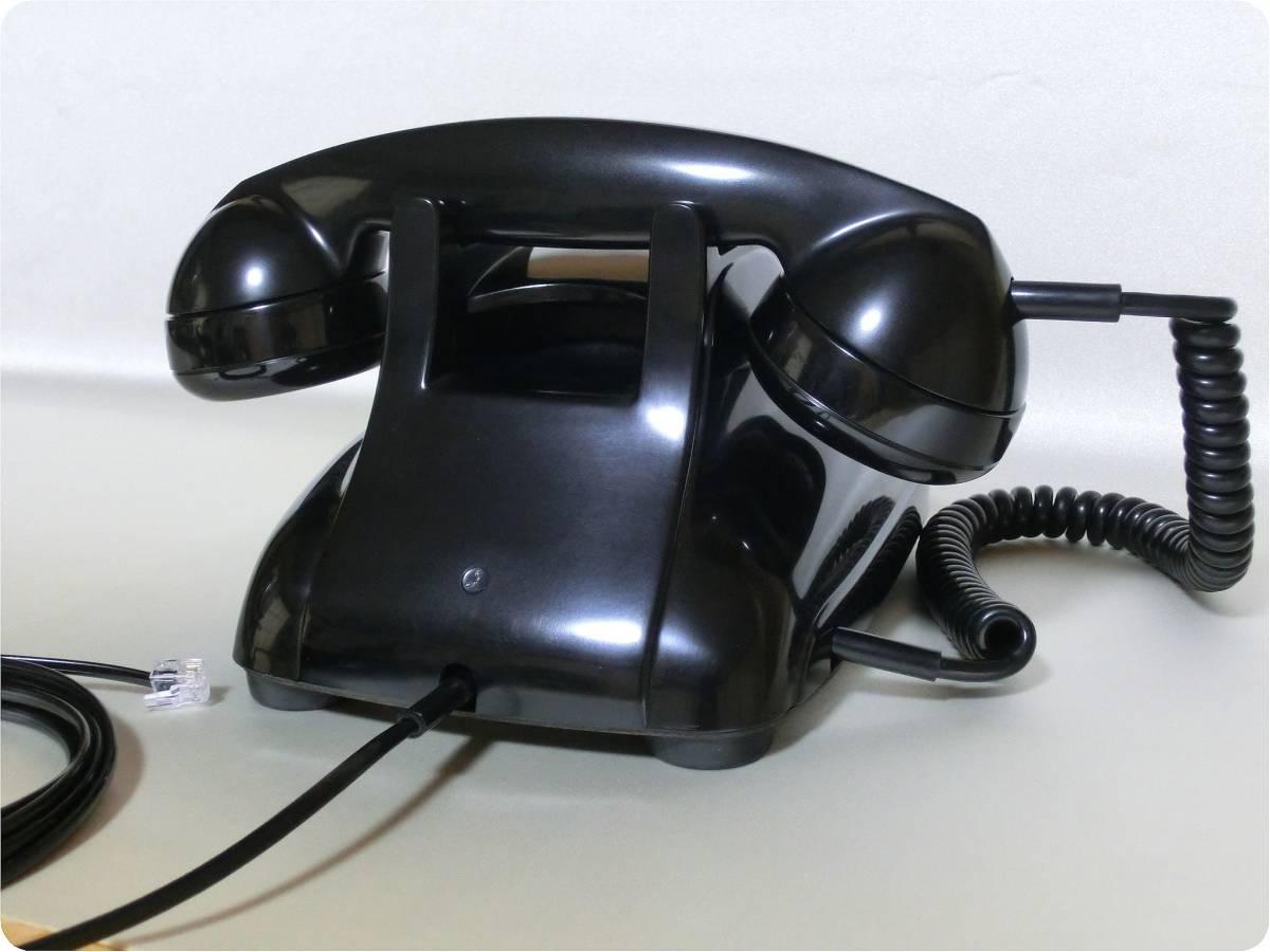 &#9742 昭和の電話機 4号 黒電話 昭和レトロ 実動! &#9742_画像4
