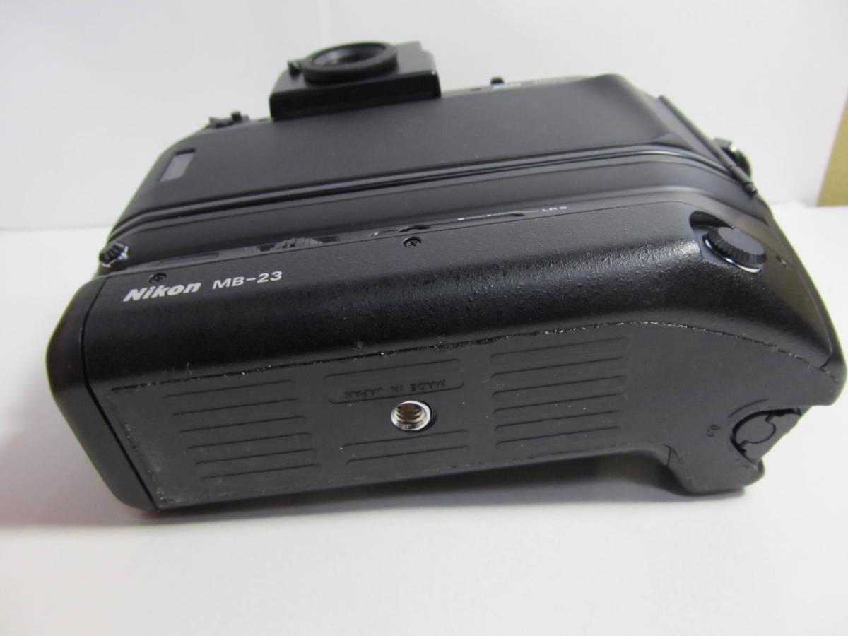 ニコン NIKON F4/MB-23 ジャンク_画像5