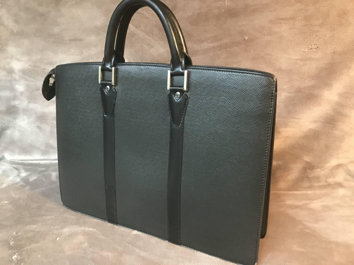 [美品]ルイヴィトン タイがロザン 書類ビジネスバッグ ブラック_画像2