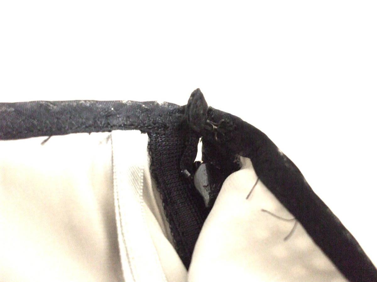 ★訳あり★COMME CA DU MODEコムサデモード♪シルク素材との2枚仕立て♪上質ロングスカートM♪_画像5