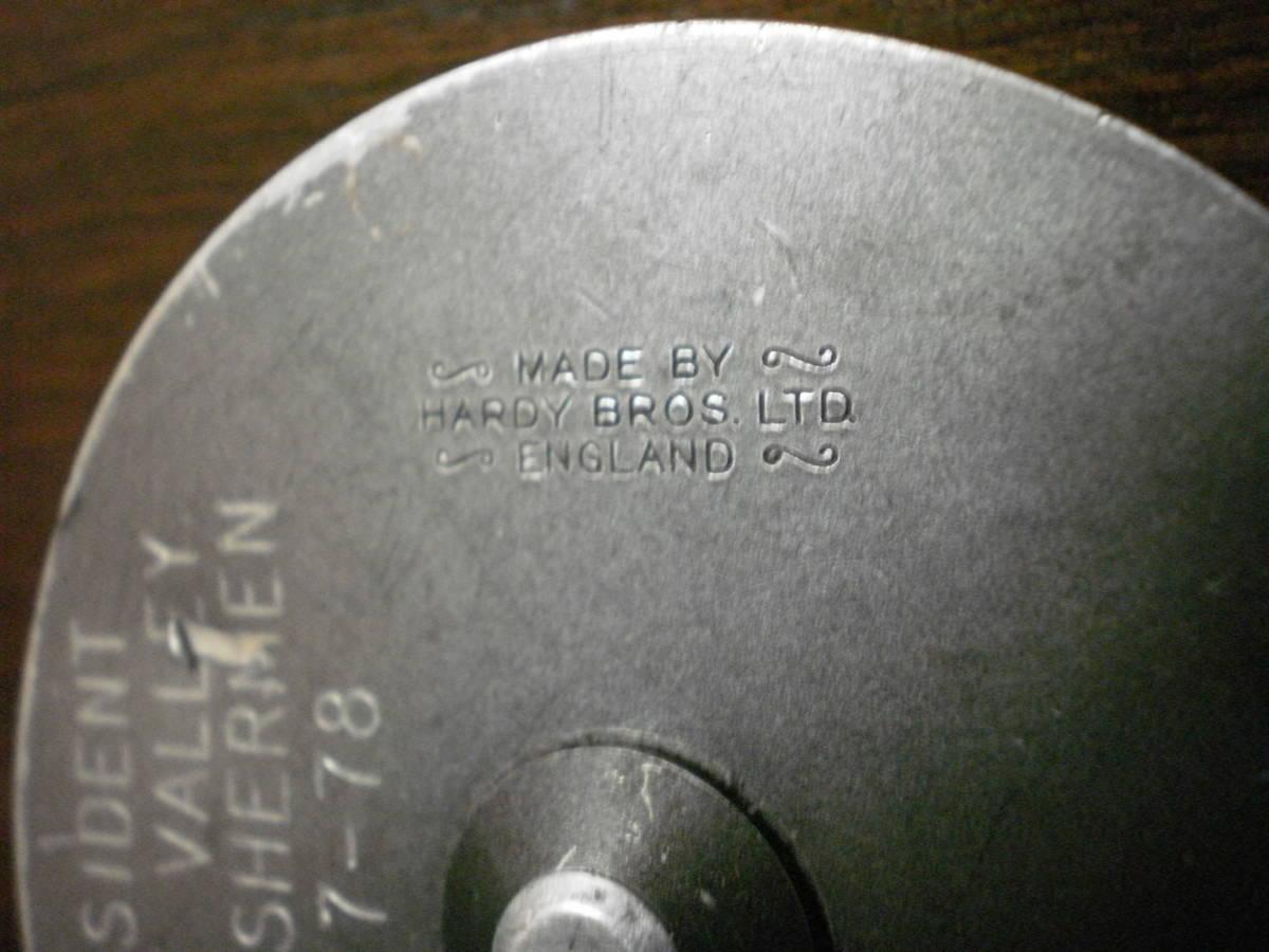 ハーディ パーフェクト 3 3/8 フライリール (70) 【1円スタート】_画像6
