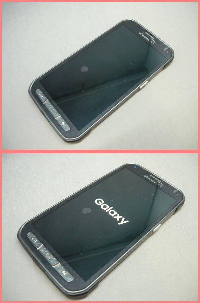 【判定○】docomo GALAXY S5 Active SC-02G Titanium Gray ギャラクシー エスファイブ アクティブ SC-02G サムスン_画像2