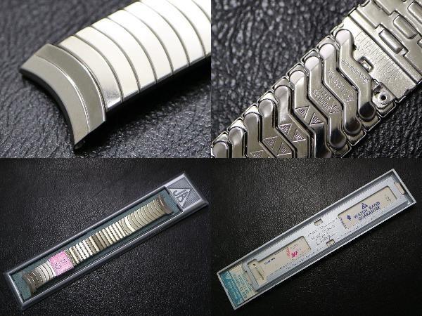 【弓かん 19.1㎜】 デッドストック 1960's~ JB CHAMPION ビンテージ USA製 チャンピオン エクスパンション 腕時計 金属 ベルト ブレス_画像3
