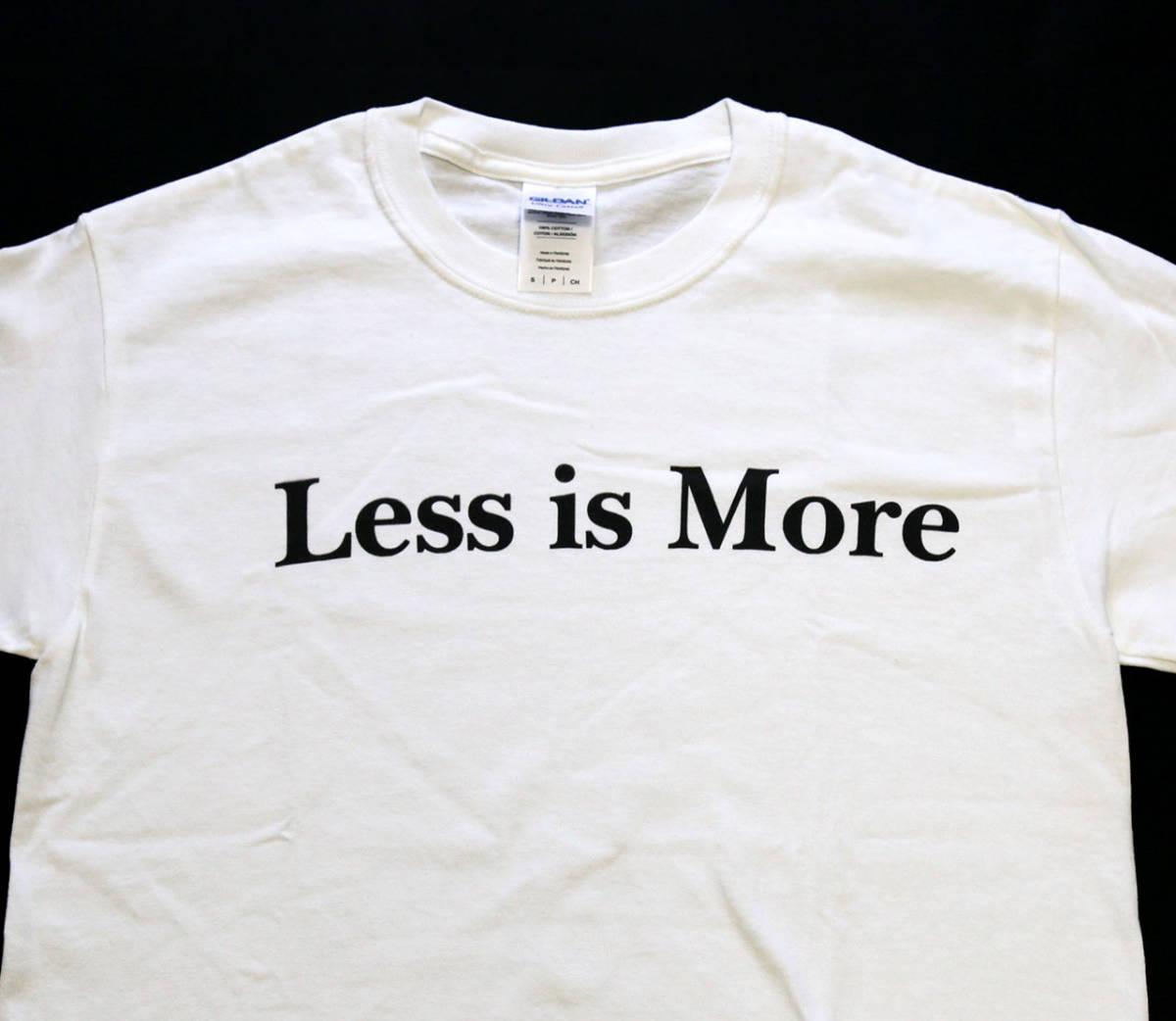 less is more Tシャツ sサイズ ミース ファン ヤフオク