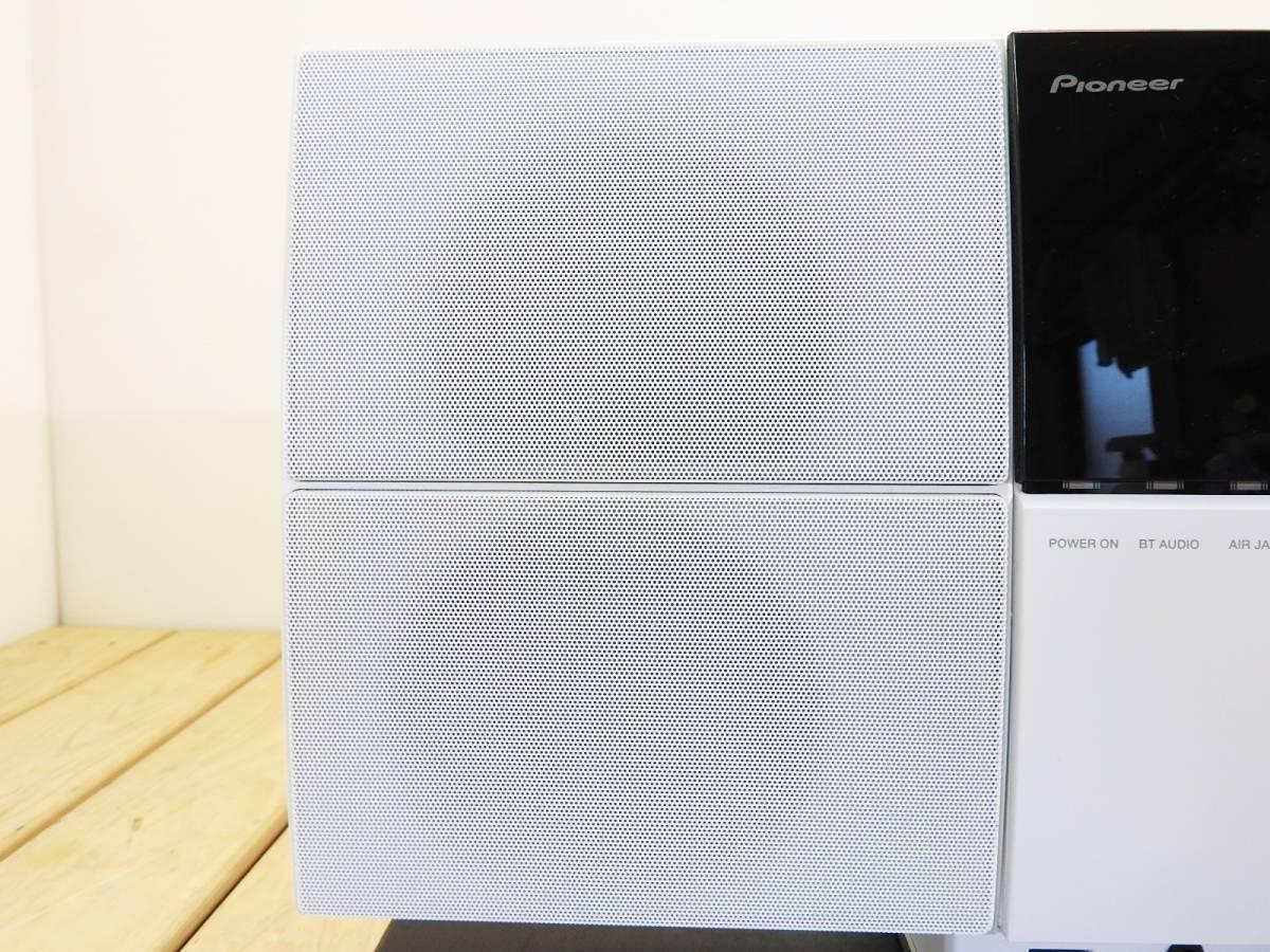 Pioneer パイオニア★X-SMC2-W ipod/DVD/CD/USB/HDMI スタイリッシュ ミニコンポ 動作可★現状品「管理№M3757」_画像6