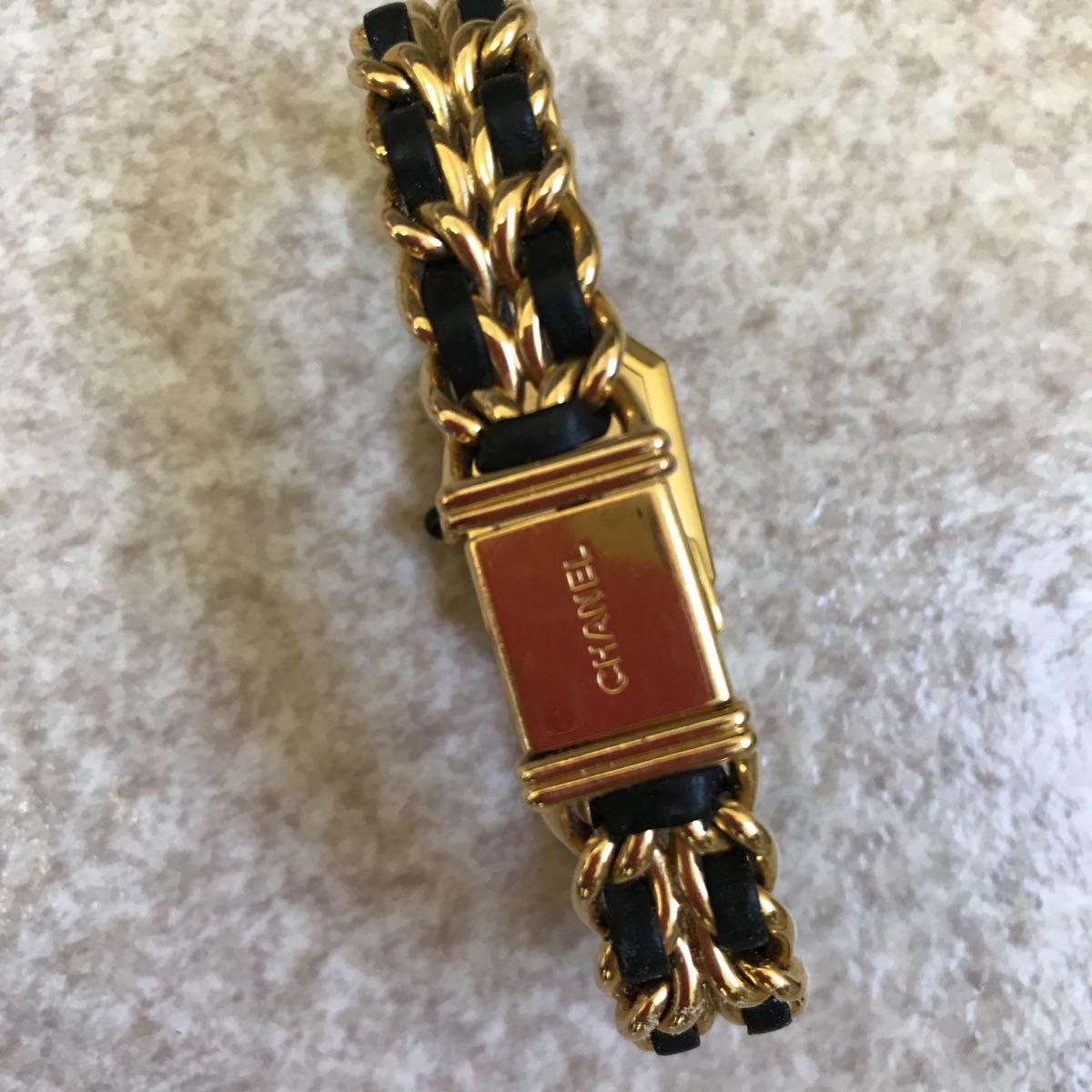 CHANEL 腕時計 プルミエール 正規品 Lサイズ_画像4