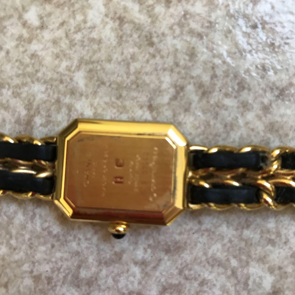 CHANEL 腕時計 プルミエール 正規品 Lサイズ_画像5