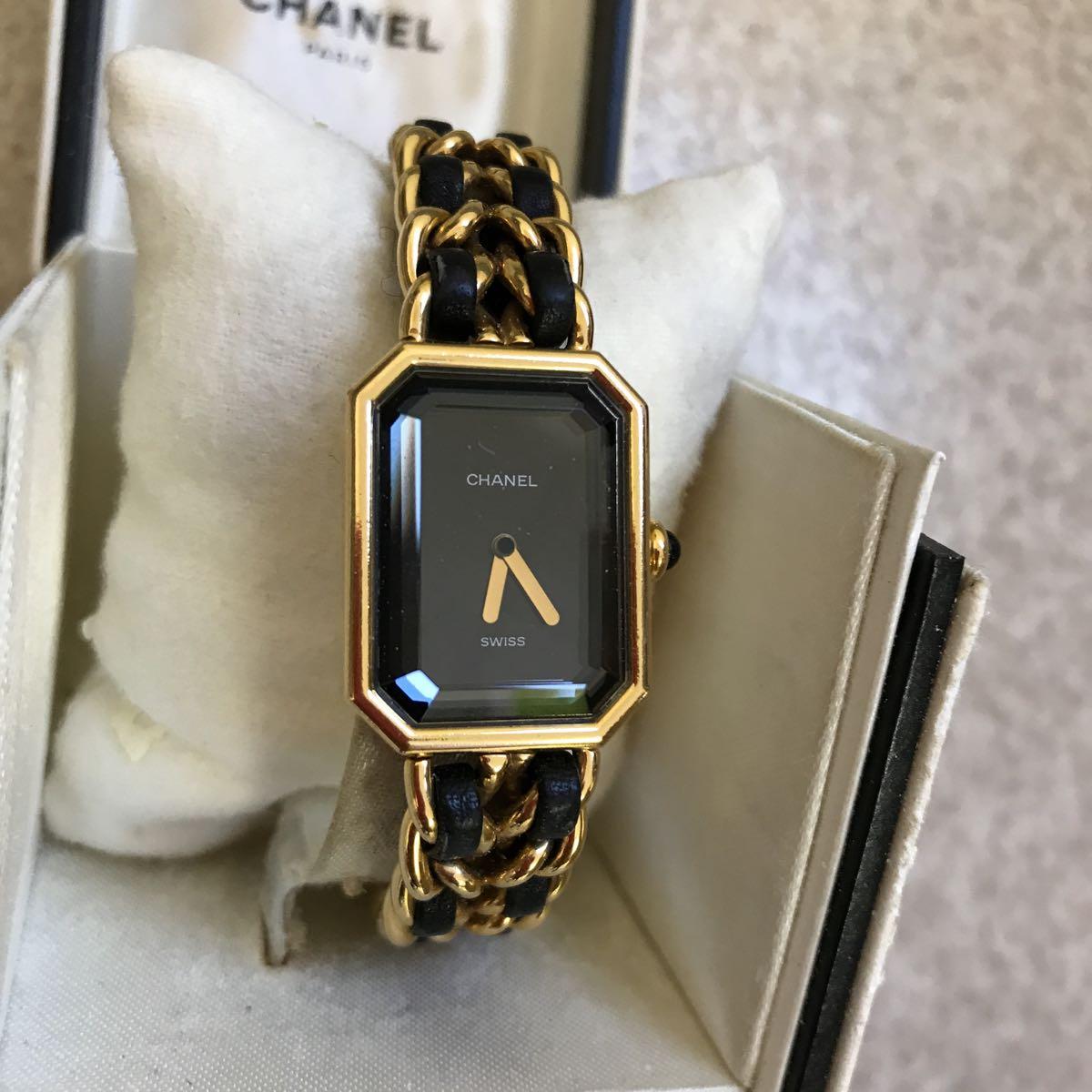 CHANEL 腕時計 プルミエール 正規品 Lサイズ_画像3