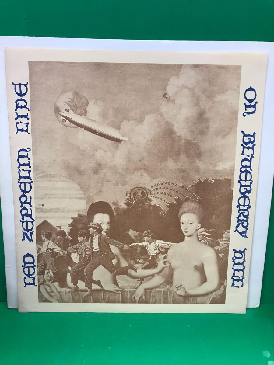 LP 2枚組 ブートレッグ「レッド・ツェッペリン/LIVE ON BLUEBERRY HILL」LED ZEPPELIN
