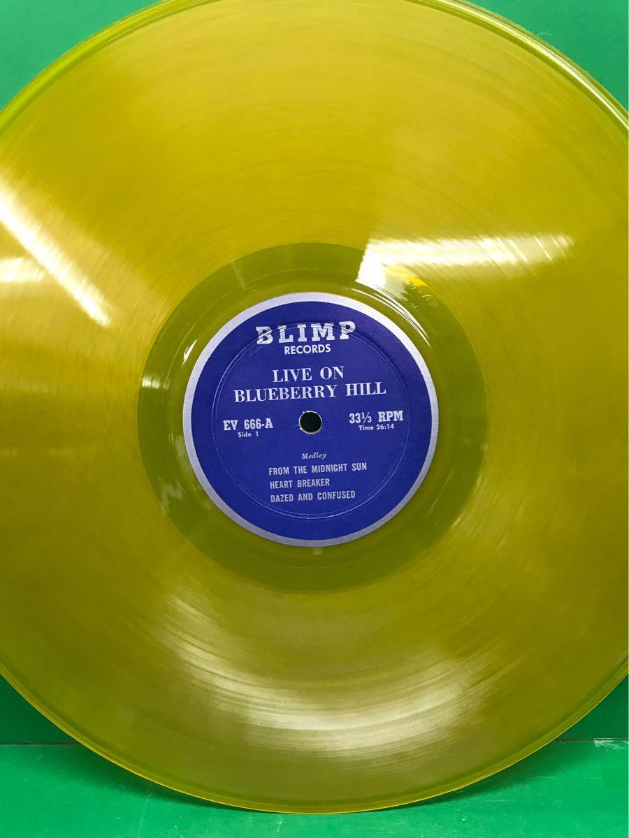 LP 2枚組 ブートレッグ「レッド・ツェッペリン/LIVE ON BLUEBERRY HILL」LED ZEPPELIN_画像3