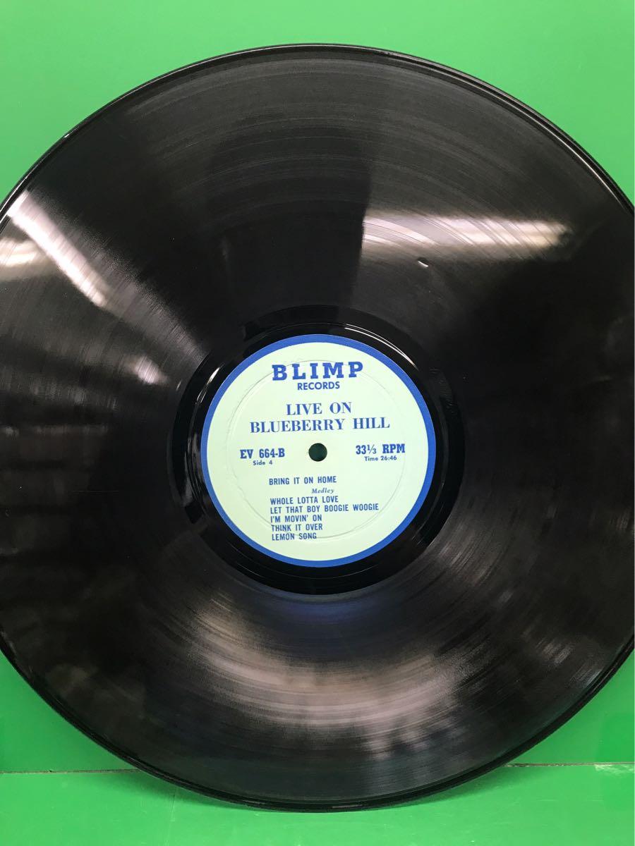 LP 2枚組 ブートレッグ「レッド・ツェッペリン/LIVE ON BLUEBERRY HILL」LED ZEPPELIN_画像2