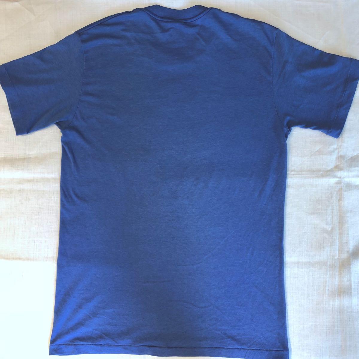 80s NIKE ATHLETICS WEST Print T-shirtナイキ プリント Tシャツ古着 古着女子 Lサイズ USA製_画像5