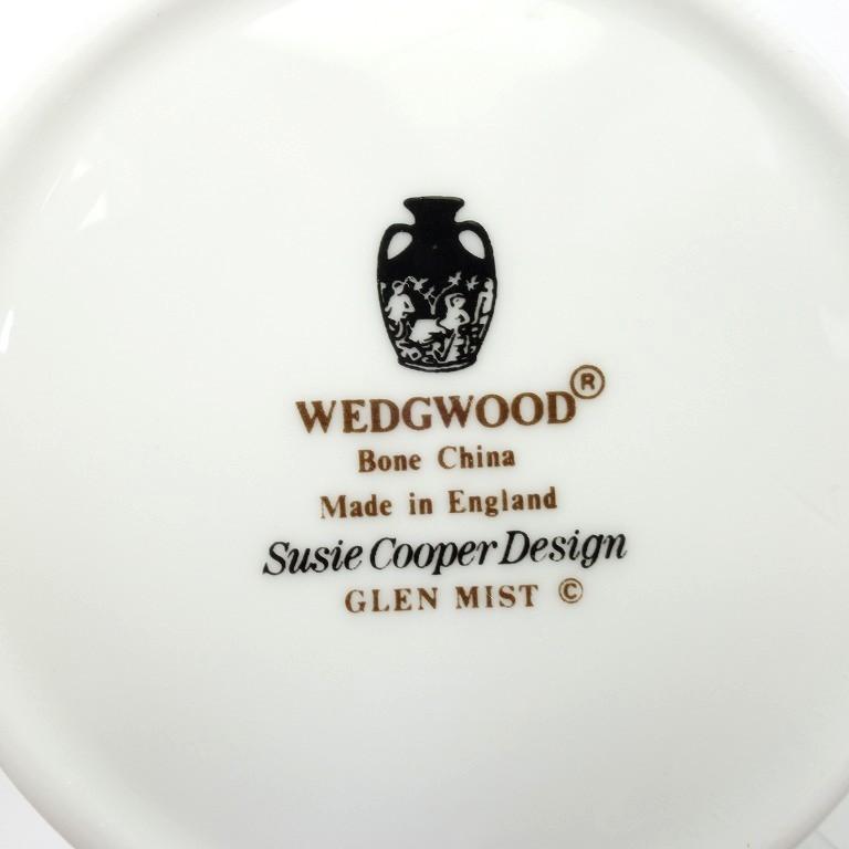 ウェッジウッド(Wedgwood) グレンミスト デミタスカップ&ソーサー(ティーカップサイズ) E242 【Aランク】_画像2