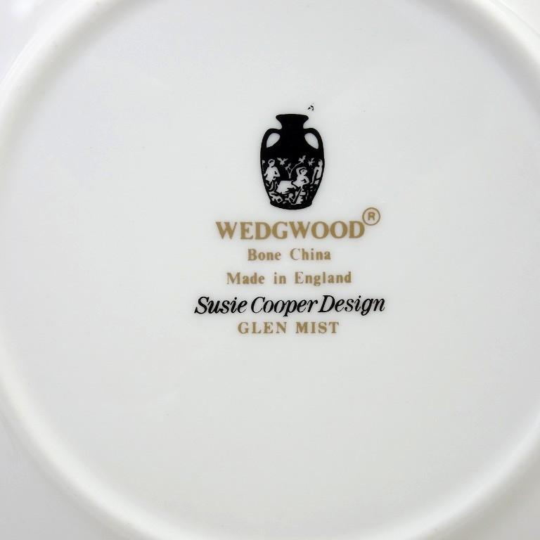 ウェッジウッド(Wedgwood) グレンミスト デミタスカップ&ソーサー(ティーカップサイズ) E242 【Aランク】_画像3