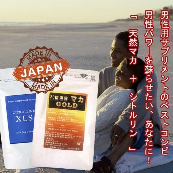 1円~  メンズ 活力 サプリ シトルリン + 有機マカ(ペルー産) M w