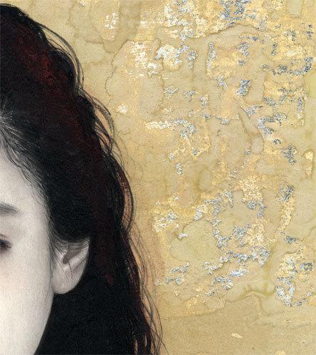 妃 耶八 ●日本画「頬杖(ほおづえ)」_画像3
