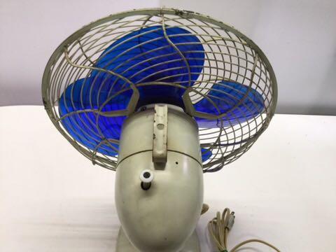 TOSHIBA アンティーク扇風機 動作OK 4枚羽根 昭和レトロ 希少 レア 東芝 古道具 ELECTRIC FAN 骨董_画像8