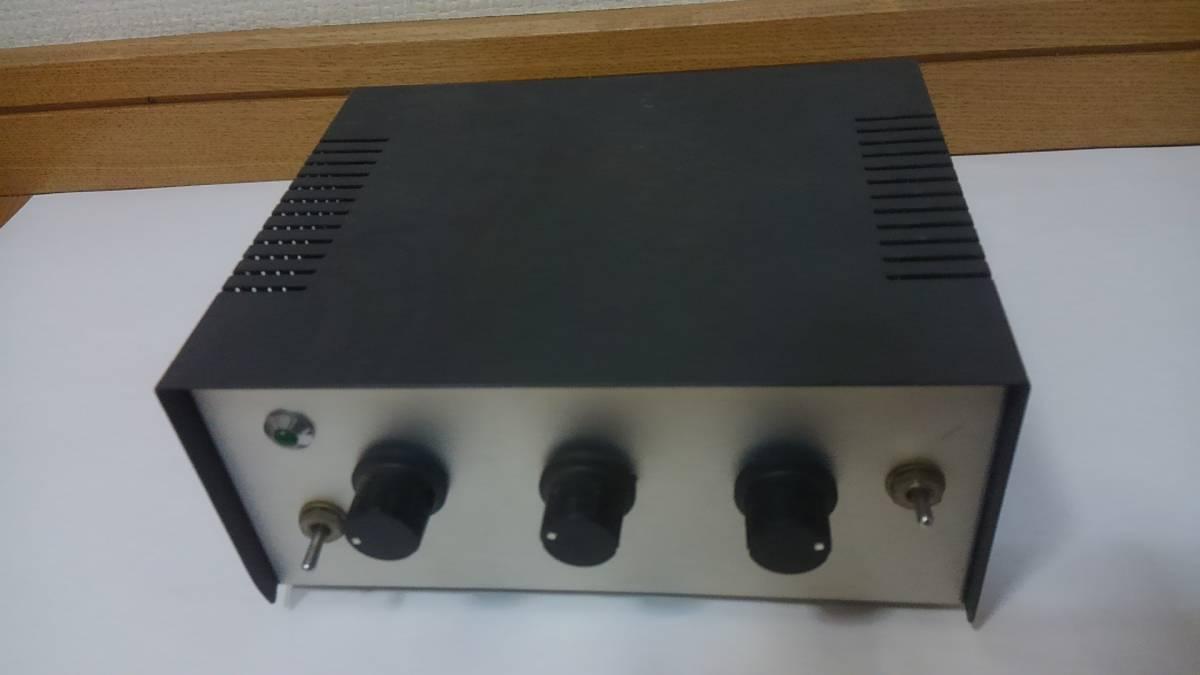 自作工作ボックス ケース美品 SP-431基盤2枚内臓 OP AMP? 3切換えSW ボリューム20KΩ 2個付き ジャンク