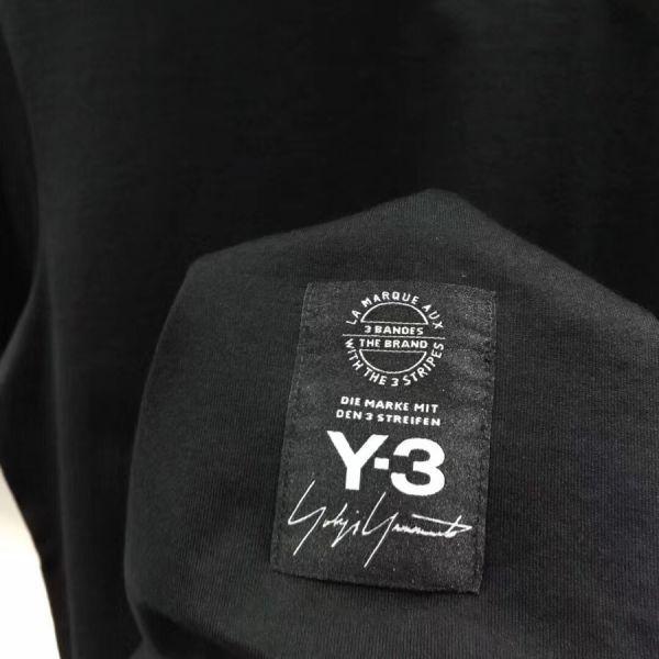 2018最新Paris Y-3Tシャツ男女兼用Mサイズブラック新品_画像9