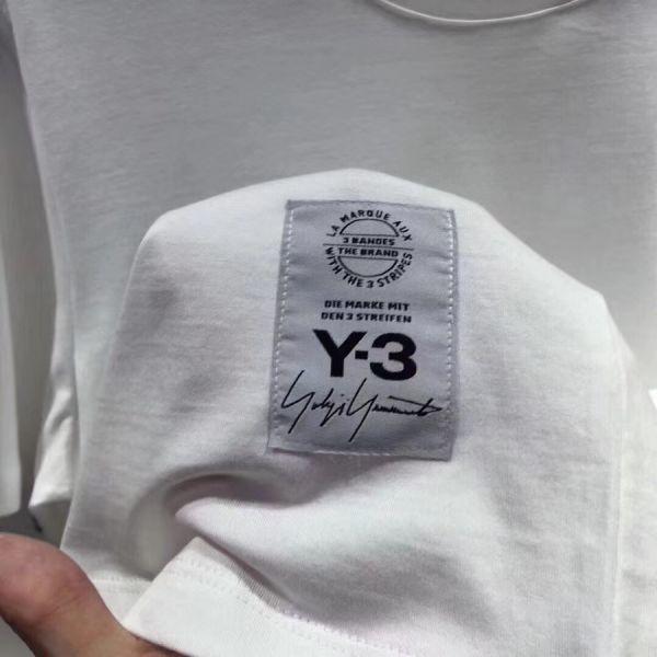 2018最新Paris Y-3Tシャツ男女兼用Mサイズブラック新品_画像5