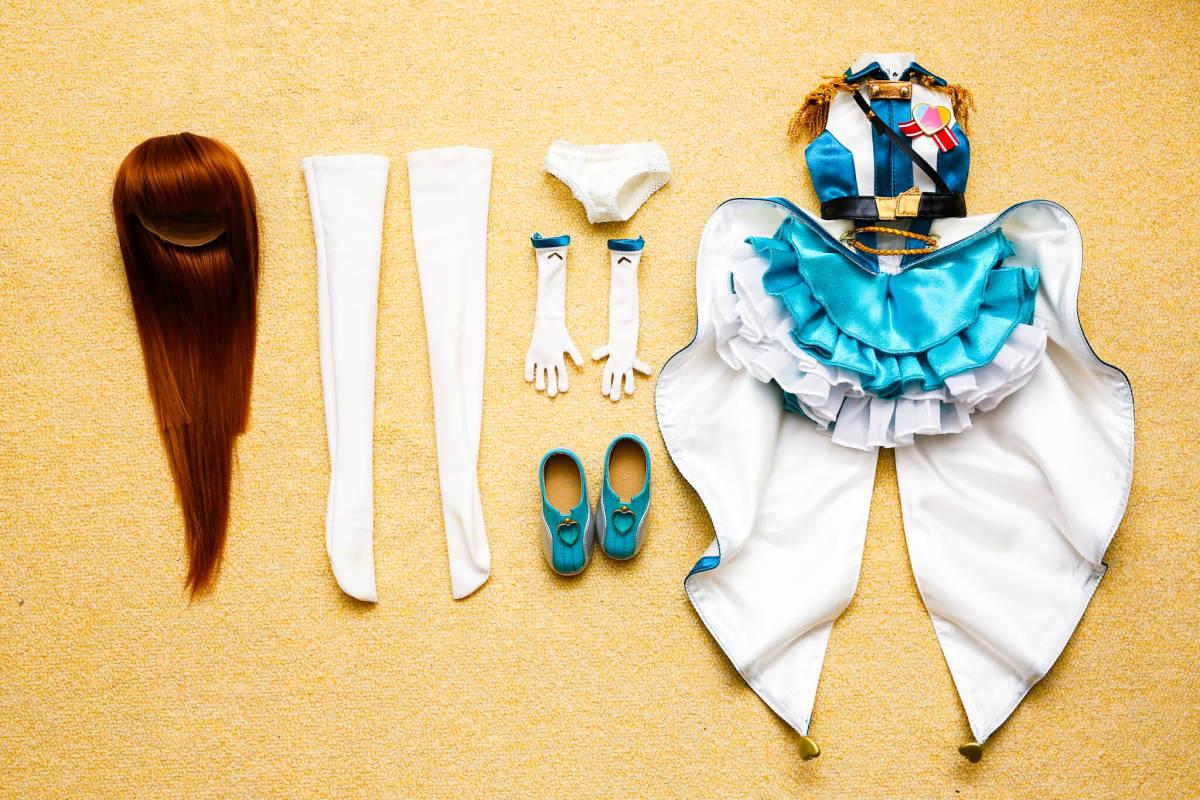 ★☆RONRONSHUKA DDH 秋山澪 カスタムヘッド+ウィッグ+ボディ+衣装 ドルフィードリーム☆★_画像10