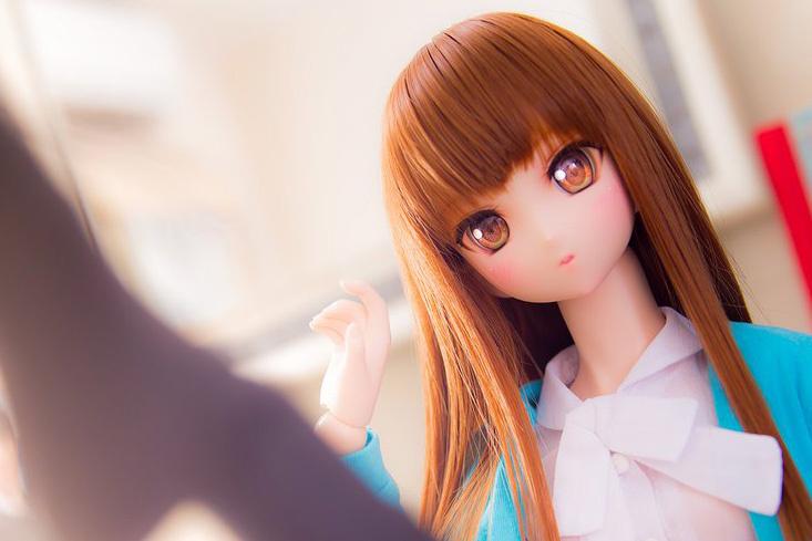 ★☆RONRONSHUKA DDH 秋山澪 カスタムヘッド+ウィッグ+ボディ+衣装 ドルフィードリーム☆★