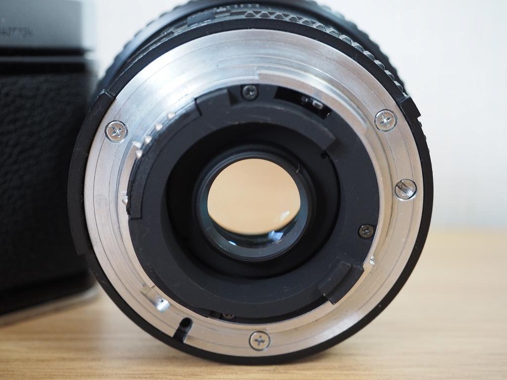 【レンズ・カバー付き!!】Nikon ニコン FE AF NIKKOR 20mm 1:2.8_画像9