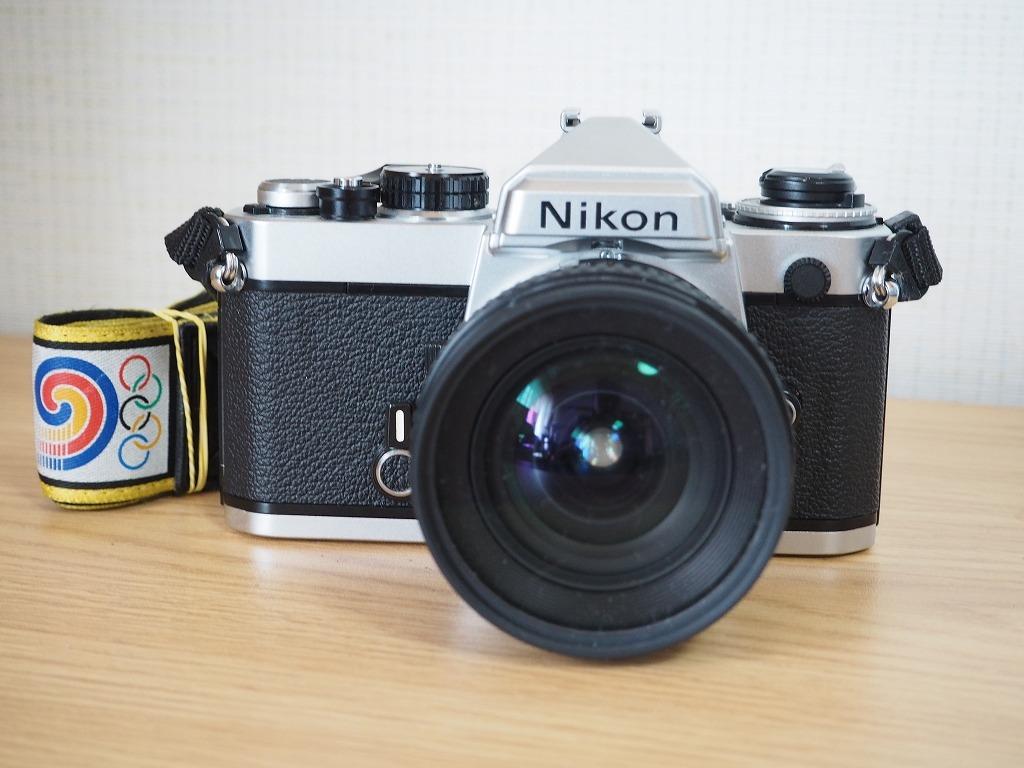 【レンズ・カバー付き!!】Nikon ニコン FE AF NIKKOR 20mm 1:2.8_画像5