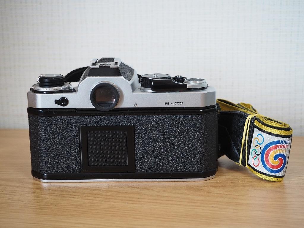【レンズ・カバー付き!!】Nikon ニコン FE AF NIKKOR 20mm 1:2.8_画像4