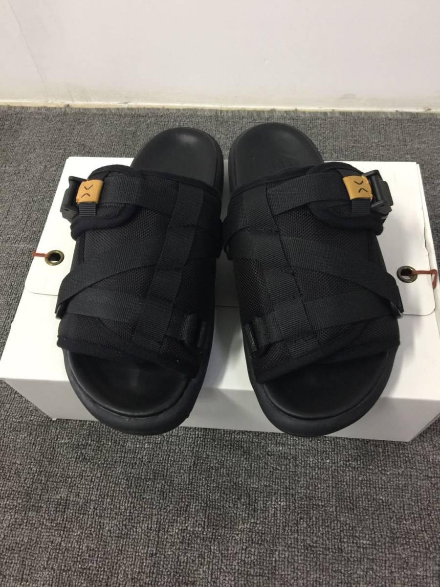 6afc936d504 VISVIM visvim sandals shoes slippers black Christo Sandal Chris toJohn  Mayer man M size 29cm ( approximately ) black