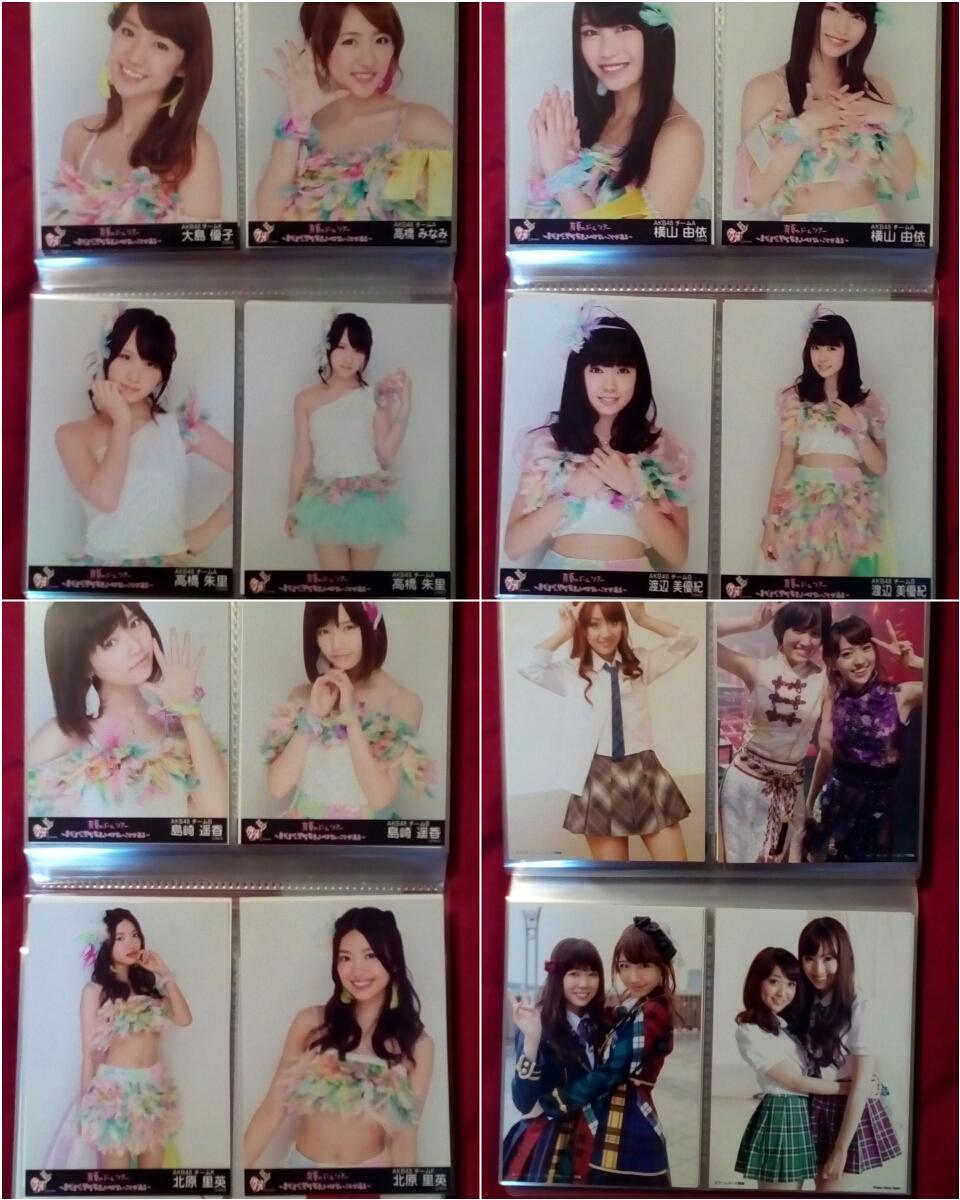 AKB48 公式生写真約1300枚セットまとめ売り コンプ復刻版 共通ポーズ 北原里英 大島優子 松井珠理奈 指原莉乃 SKE/NMB/HKT/NGT/STU/チーム8_画像4