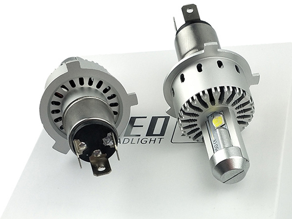 ★ZX12R GTR1400 ZZR1200/エブリィ DA17V ワンタッチ取付 PHILIPS CREE製XHP50 LEDヘッドライト H4バルブ Hi/Lo 16000LM 車検対応_画像2