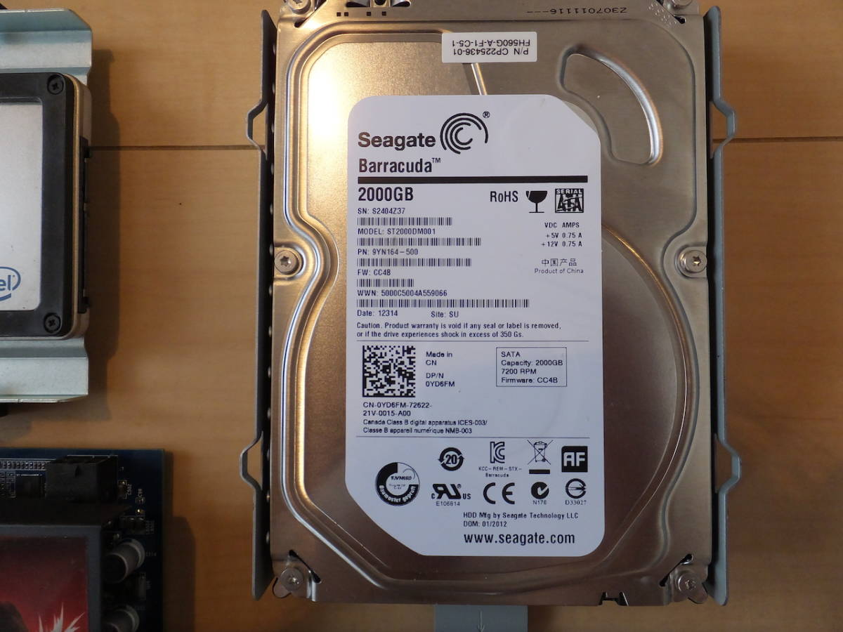 【1円~】自作 Intel Core-i7 / 8BG / SSD+2TB_画像3