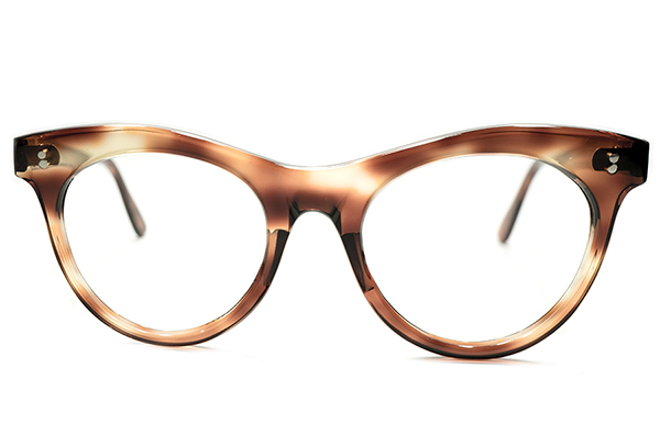 機能本位超GOODシルエット&グッドサイズ 1950sフランス製2DOT鼈甲ウェリントンPANTOパント実寸46/20眼鏡A5019 ビンテージサングラスメガネ_画像1