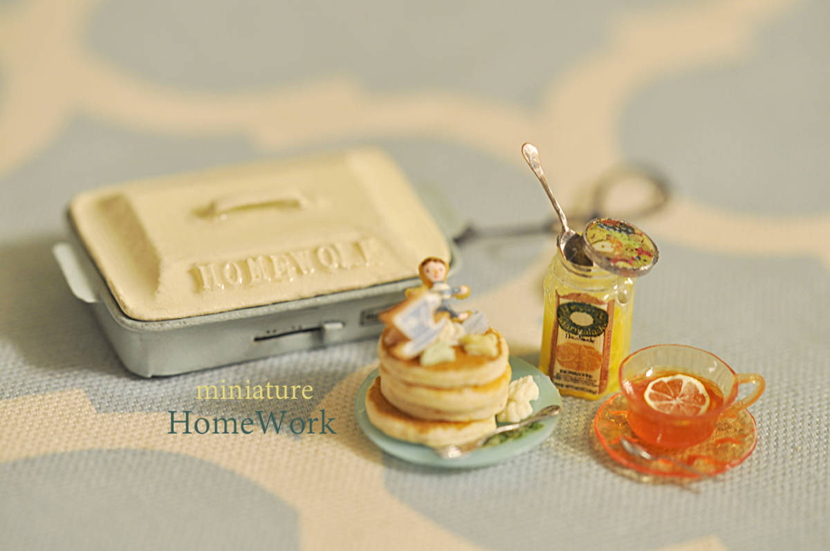 HomeWork◆ホットプレートでホットケーキ_画像4