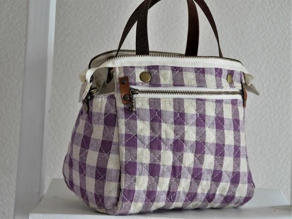 yokuatareハンドメイド*両面手刺繍でいっぱいのバッグ*長さ調整と取り外しできるショルダーコード付き_画像9