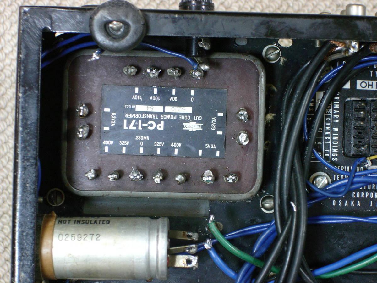 自作アンプにTAMURA (Cut Core PC-171)とCHOKU (LUX)のトランス等々如何。_画像2