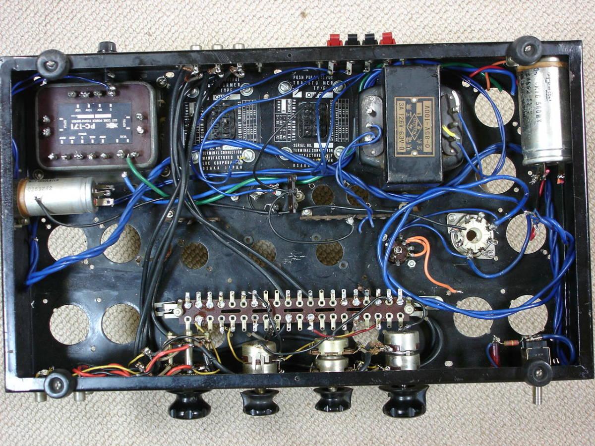 自作アンプにTAMURA (Cut Core PC-171)とCHOKU (LUX)のトランス等々如何。_画像4