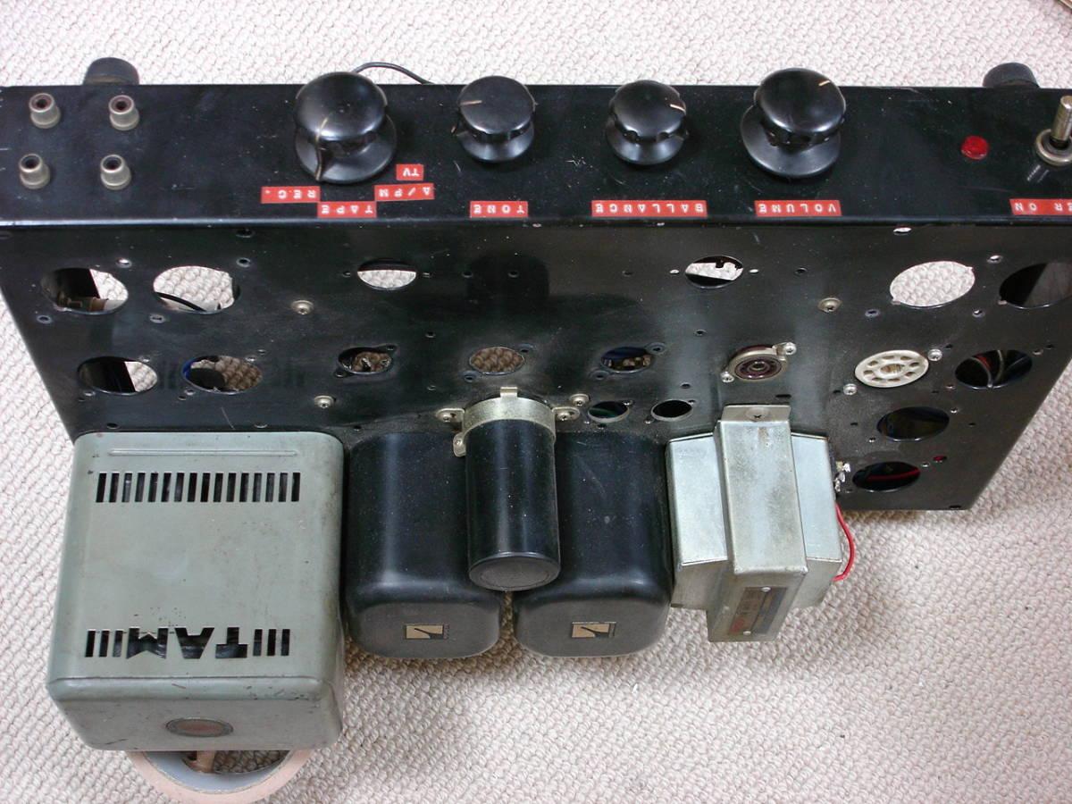 自作アンプにTAMURA (Cut Core PC-171)とCHOKU (LUX)のトランス等々如何。_画像6