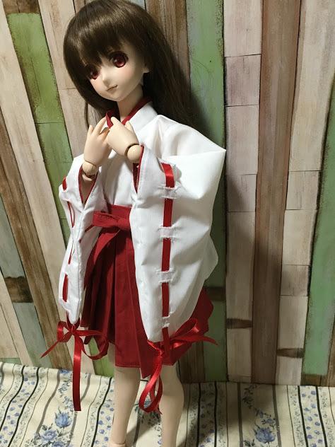【しえすた】DDS巫女服セット_画像2