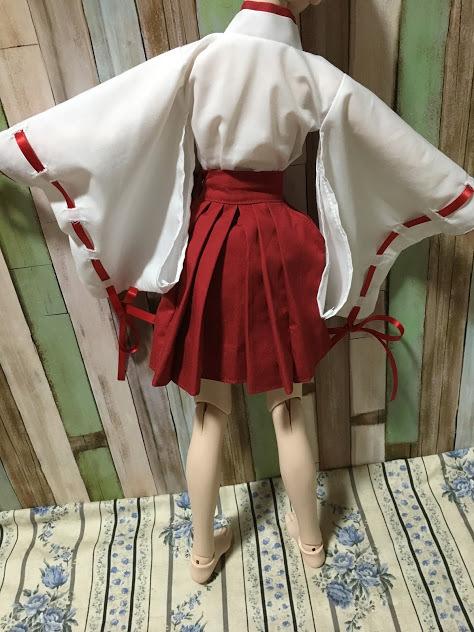 【しえすた】DDS巫女服セット_画像6