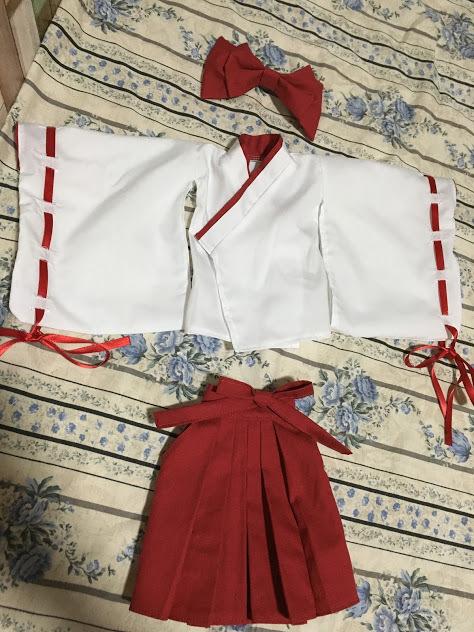 【しえすた】DDS巫女服セット_画像8