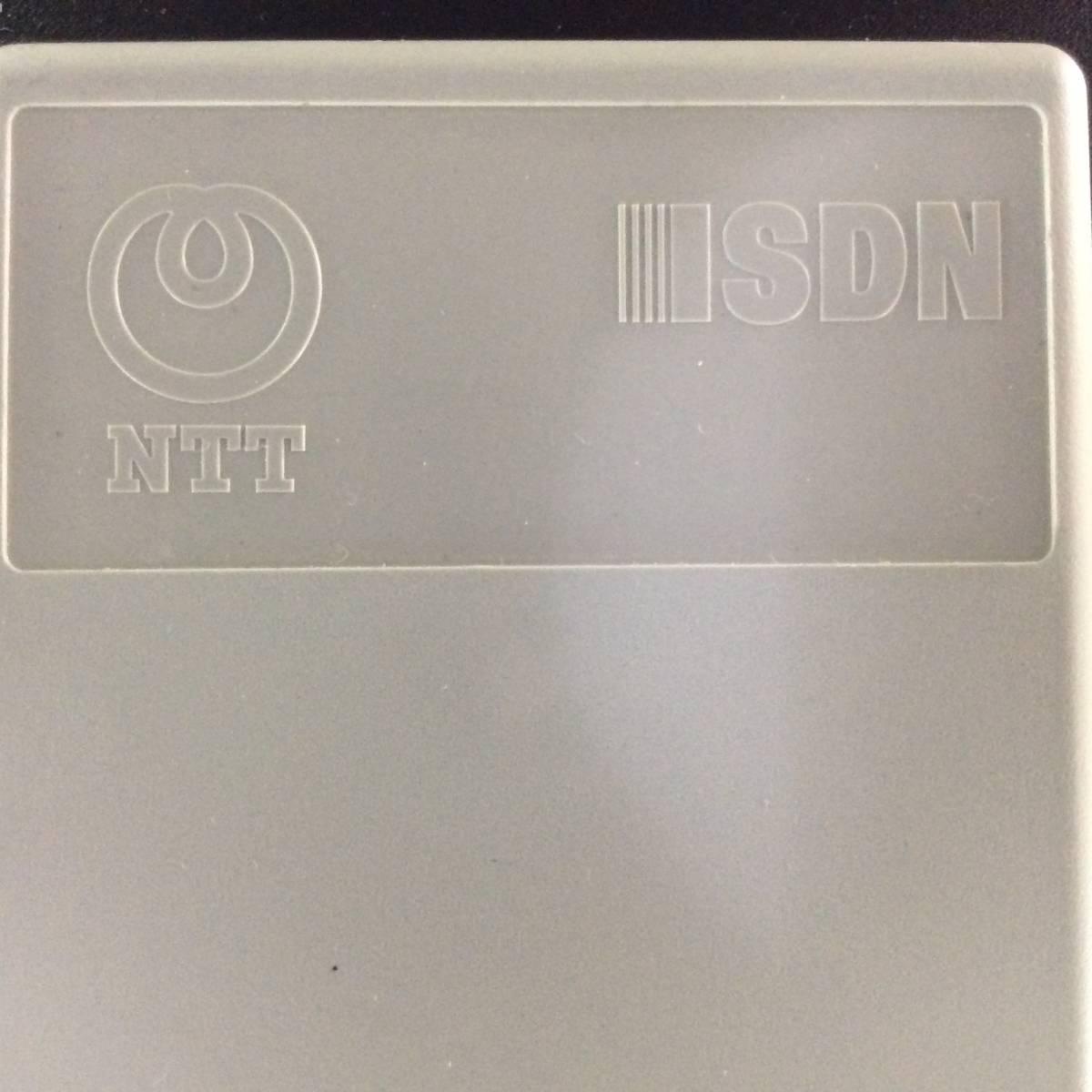 ★☆★ NTT 西日本 SL-144K F DSU-E〈R〉★☆★ 一度使用 美品 ★☆★ISDN DSU I-DSU64VB デジタル回線接続装置 _画像8
