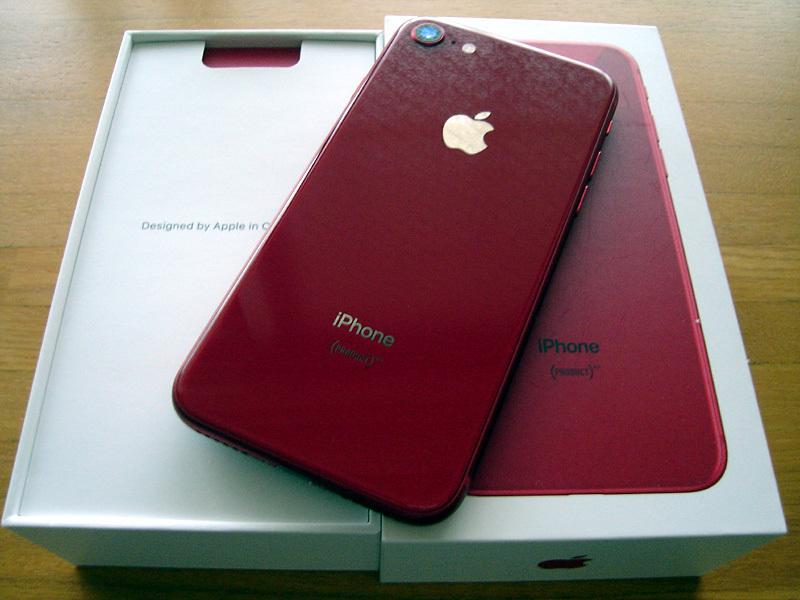 新品 シムフリー iPhone8 64GB (PRODUCT) RED 赤 2018/5/29一括購入 残債なし 利用制限〇 判定〇