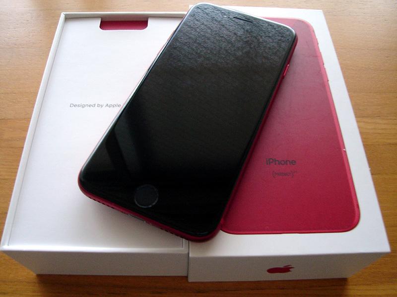 新品 シムフリー iPhone8 64GB (PRODUCT) RED 赤 2018/5/29一括購入 残債なし 利用制限〇 判定〇_画像2