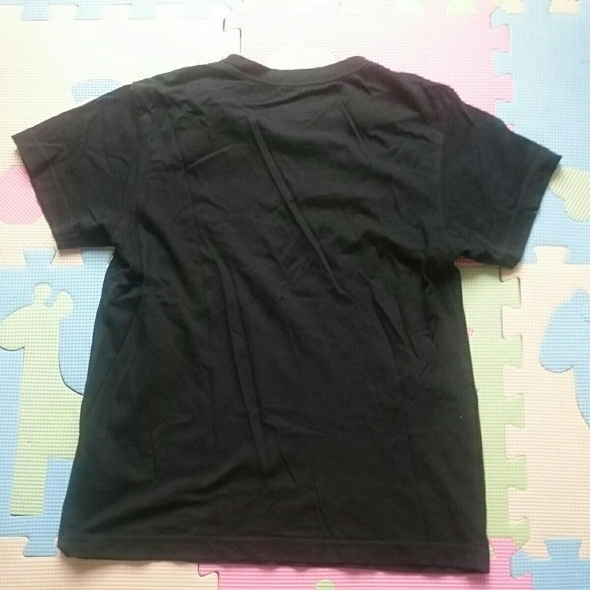 【即決!!】男の子用半そでTシャツ2枚セット 150㎝ ④ブラック2枚 下着/インナーにも_画像7