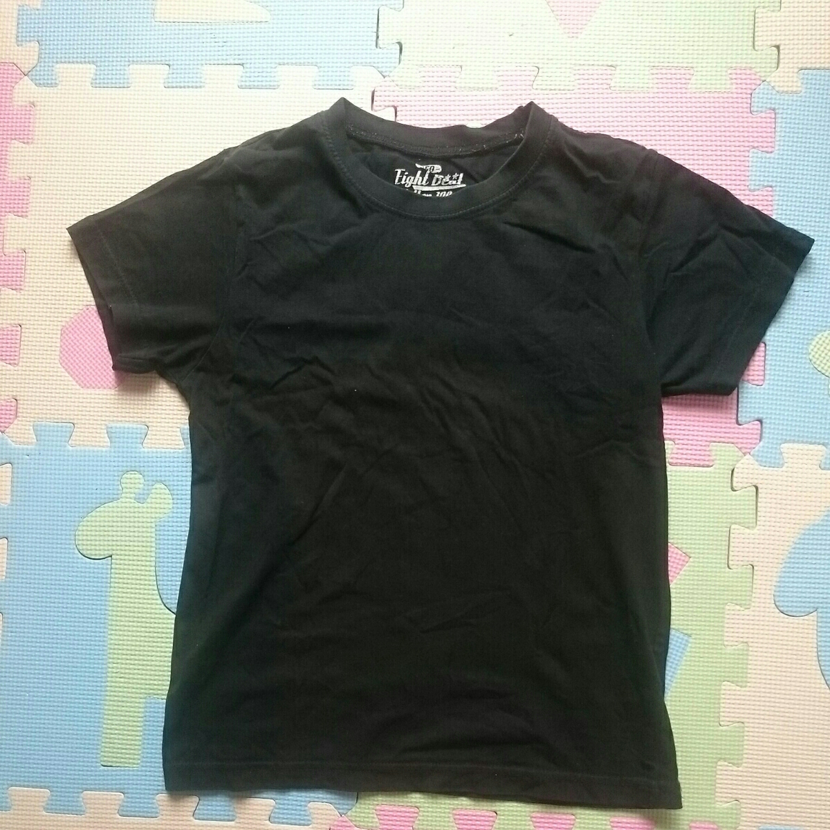 【即決!!】男の子用半そでTシャツ2枚セット 150㎝ ④ブラック2枚 下着/インナーにも_画像5