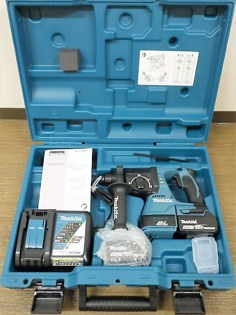 ◆新品 makita HR244DRGX 24mm 18v 6.0Ah 充電式 ハンマドリル マキタ_画像2