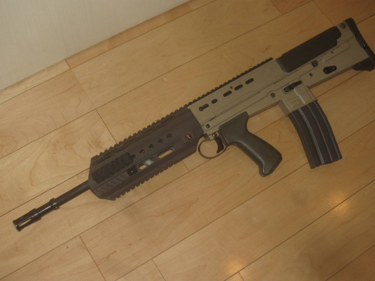 L85A3(SA80A3)自作ハンドガードキット組込 G&G 訳アリ 1円スタート L85A1 L85A2 M4 416