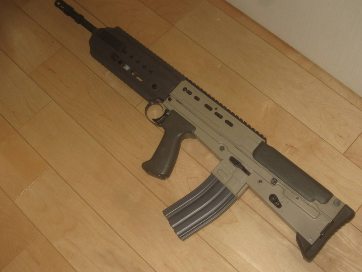 L85A3(SA80A3)自作ハンドガードキット組込 G&G 訳アリ 1円スタート L85A1 L85A2 M4 416 _画像2
